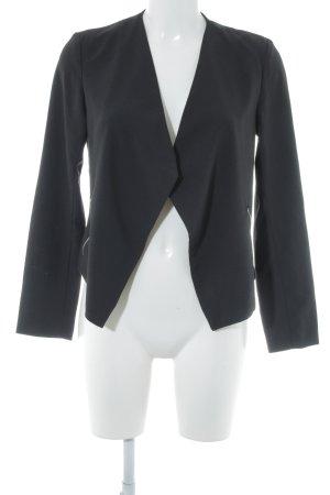 H&M Divided Jerseyblazer schwarz klassischer Stil
