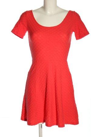 H&M Divided Jerseykleid rot Elegant