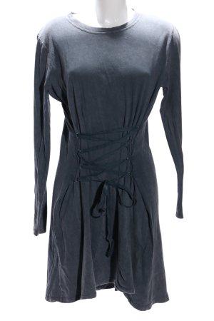 H&M Divided Jerseykleid hellgrau Casual-Look
