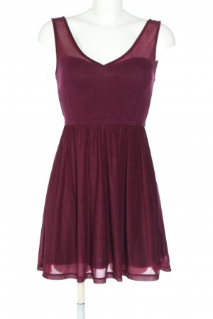 H&M Divided Jerseykleid pink Elegant