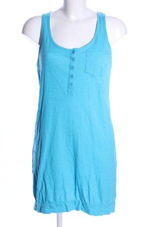 H&M Divided Jerseykleid blau Casual-Look