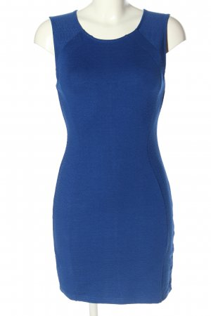 H&M Divided Jerseykleid blau Allover-Druck Casual-Look