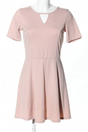 H&M Divided Jerseykleid pink Business-Look