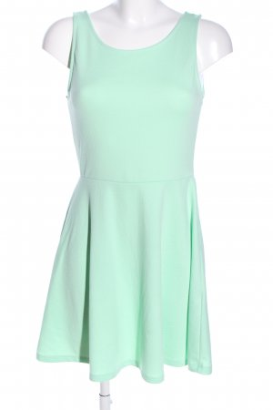 H&M Divided Jersey Dress turquoise casual look