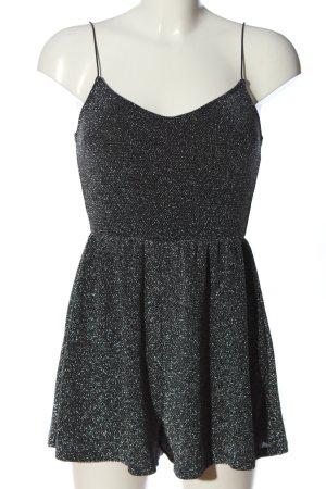 H&M Divided Jumpsuit schwarz-silberfarben Casual-Look