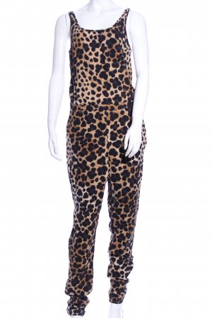 H&M Divided Jumpsuit Allover-Druck Casual-Look