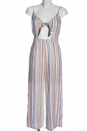 H&M Divided Jumpsuit Streifenmuster Casual-Look