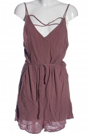 H&M Divided Jumpsuit lila Casual-Look