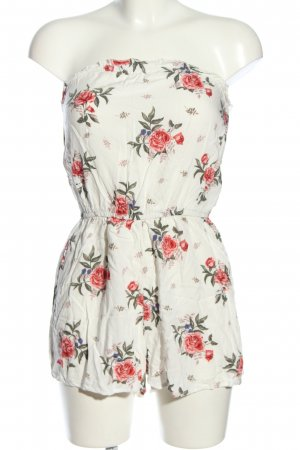 H&M Divided Jumpsuit Blumenmuster Casual-Look