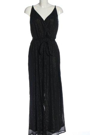 H&M Divided Jumpsuit schwarz Streifenmuster Elegant