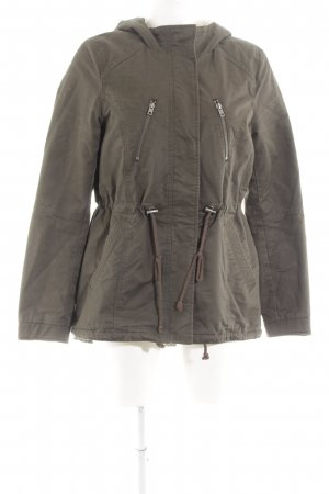 H&M Divided Kapuzenjacke khaki Casual-Look