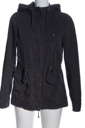 H&M Divided Kurtka z kapturem czarny W stylu casual
