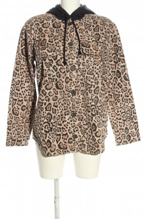 H&M Divided Kapuzenjacke Animalmuster Casual-Look