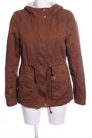 H&M Divided Kapuzenjacke braun Casual-Look