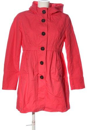 H&M Divided Kurtka z kapturem czerwony W stylu casual