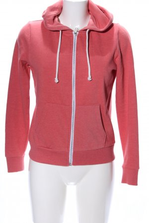 H&M Divided Kapuzenjacke pink meliert Casual-Look