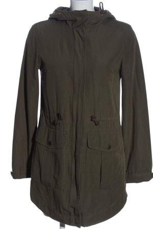 H&M Divided Kurtka z kapturem khaki W stylu casual