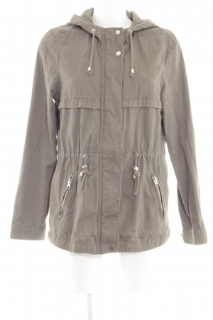 H&M Divided Kapuzenjacke hellgrau Casual-Look