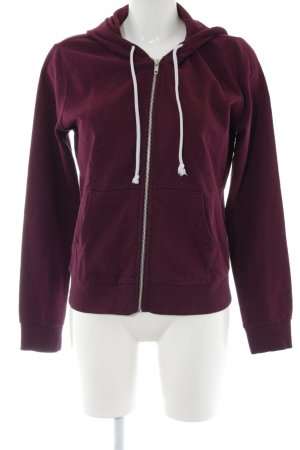 H&M Divided Kapuzenjacke rot Casual-Look