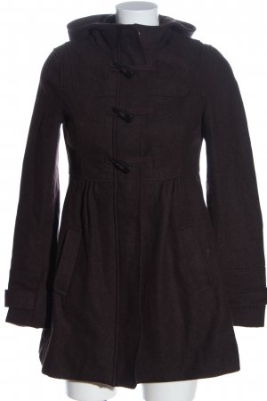 H&M Divided Capuchon jas bruin gestippeld casual uitstraling