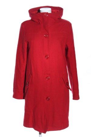 H&M Divided Cappotto con cappuccio rosso stile professionale