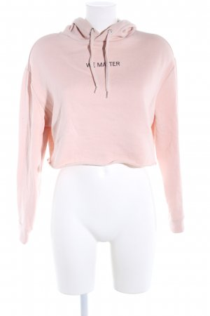 H&M Divided Hooded Sweater pink casual look