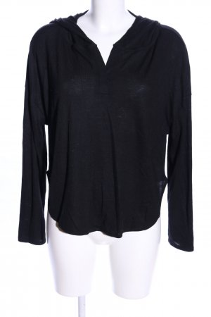 H&M Divided Blusa con capucha negro look casual