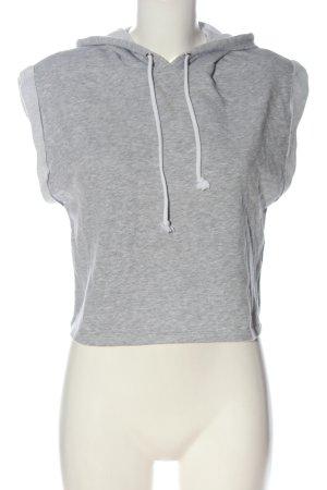 H&M Divided Koszulka z kapturem jasnoszary Melanżowy W stylu casual