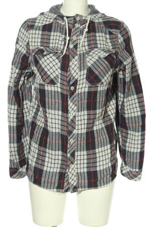 H&M Divided Kapuzensweatshirt Karomuster Casual-Look