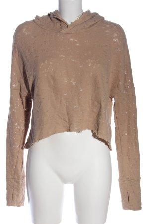 H&M Divided Kapuzensweatshirt wollweiß Casual-Look