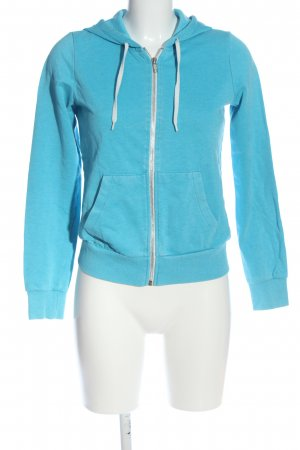 H&M Divided Kapuzensweatshirt blau Casual-Look