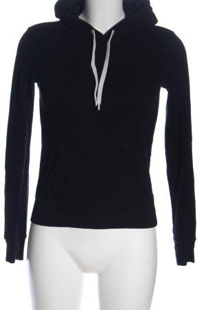 H&M Divided Bluza z kapturem czarny W stylu casual