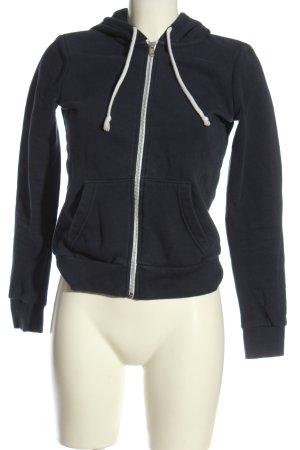 H&M Divided Kapuzensweatshirt schwarz Casual-Look