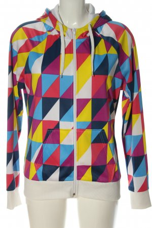 H&M Divided Hooded Sweatshirt abstract pattern casual look