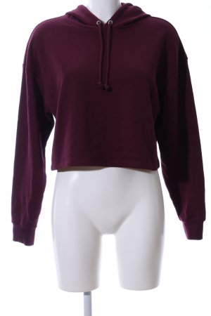 H&M Divided Kapuzensweatshirt lila Casual-Look