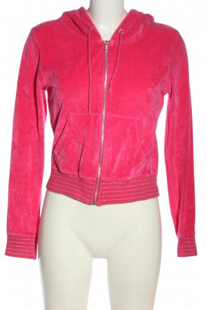 H&M Divided Sweatjacke pink Casual-Look