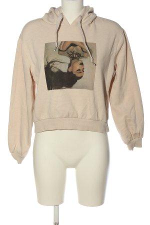 H&M Divided Kapuzensweatshirt Motivdruck Casual-Look