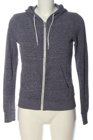 H&M Divided Hooded Sweatshirt light grey flecked casual look