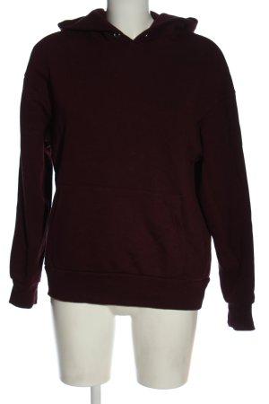 H&M Divided Kapuzensweatshirt rot Casual-Look