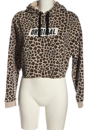H&M Divided Hooded Sweatshirt allover print Metal elements