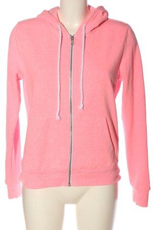 H&M Divided Sweat à capuche rose style décontracté