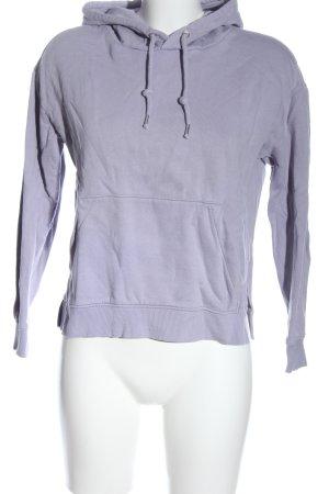 H&M Divided Kapuzensweatshirt lila Casual-Look
