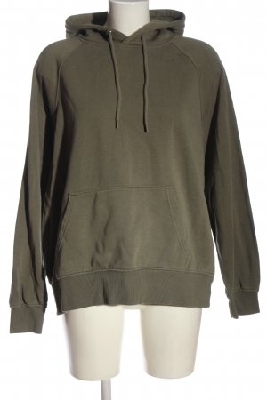 H&M Divided Kapuzensweatshirt khaki Casual-Look