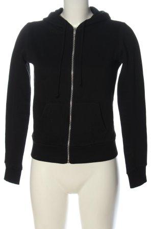 H&M Divided Hooded Sweatshirt black casual look