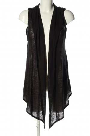H&M Divided Capuchon vest zwart casual uitstraling