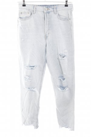H&M Divided Karottenjeans hellgrau Casual-Look