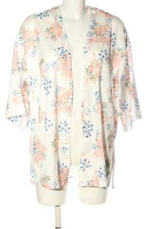 H&M Divided Kimono-Bluse Allover-Druck Casual-Look
