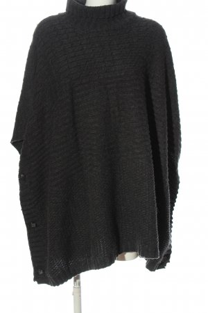 H&M Divided Pull kimono noir moucheté style décontracté