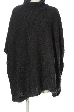 H&M Divided Jersey kimono negro moteado look casual