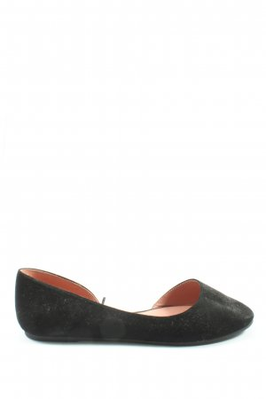 H&M Divided Classic Ballet Flats black casual look